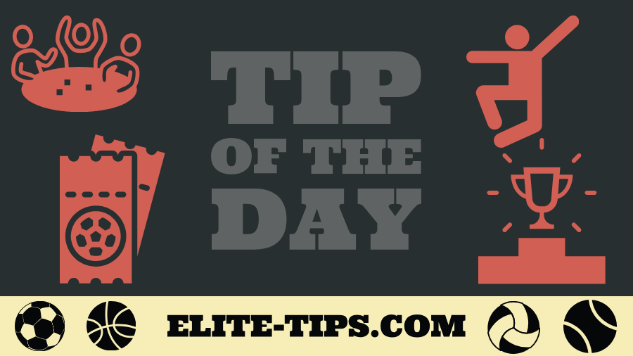 Bet of the day TIP Elite Tips